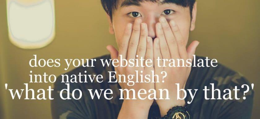 website translation editing