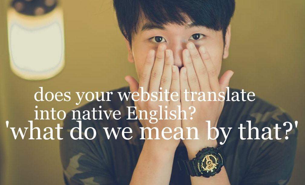 website translation editing
